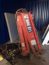 hiab 011 crane 3 5 t truck or trailer atlas crane in merthyr