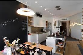 tableau design pour cuisine decoration design tableau noir mur cuisine coin repas 77 idées