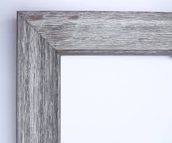 custom frame for any size artwork rustic wood white wash 1