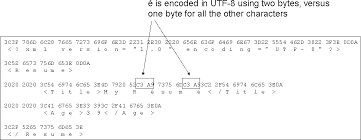 Sample Resume For Encoder by Viewing The Bytes Of A Utf 8 Encoded Xml Document