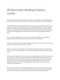 pdf wedding invitations all about indian wedding invitations london pdf pdf archive