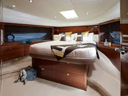 Yacht Bedroom by Nina Yacht Charter Princess Charter