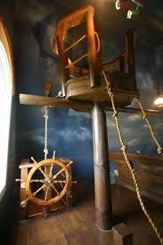 Pirate Room Decor Pirate Ship Bedroom By Designer Steve Kuhl Is A Kid U0027s Dream Come True