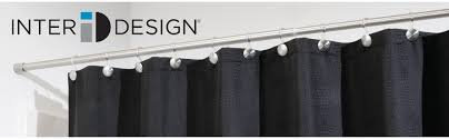 Tension Shower Curtain Rod Home Design Delightful Tension Shower Curtain Rods Wonderful