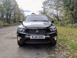 ssangyong korando sports used ssangyong korando sport pick up ex 5dr auto 4wd for sale in