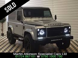 land rover silver used land rover defender sold going to watford for sale in