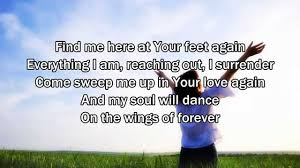 Seeking You Just Lost Wings Touch The Sky Hillsong United Worship Song With Lyrics