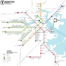 Boston Logan Airport Terminal Map by Mbta U003e About The Mbta
