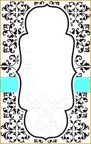 6 invitation cards template memo templates