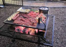 Home Made Firepit Simple And Creative Pit Ideas With Bbq Grilled