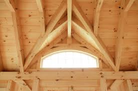 Timber Dormer Construction Our Authentic Post U0026 Beam Now Available As A Shed The Barn Yard