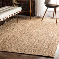Discount Area Rugs 8 X 10 Havenside Home Duck Eco Fiber Braided Reversible Jute Area