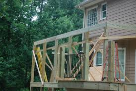 Shed Designs With Porch Decks Com Building A Shed Roof Over A Deck