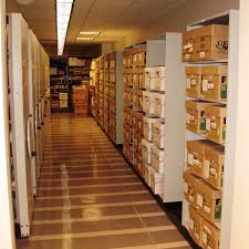 law firm storage systems including high density shelving