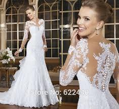 aliexpress com buy ruffles back mermaid wedding dresses bridal