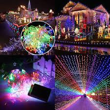 multi color led string lights ebay