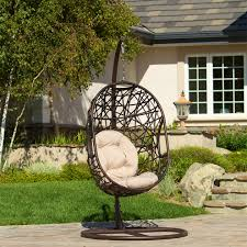 Swinging Lounge Chair Outdoor Patio Swing Chair Patio Decoration