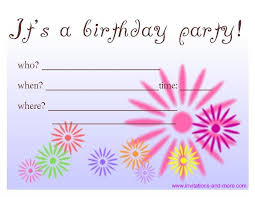 birthday party invitations birthday party invitations free marialonghi