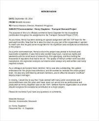 Business Letter Memorandum Example 7 Internal Memo Examples Samples