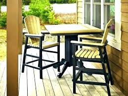 outdoor pub table sets outdoor pub table and chairs outdoor pub table set with regard to