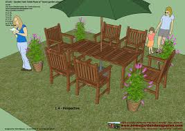 Plans For Outside Furniture by Home Garden Plans Gt100 Garden Teak Tables Woodworking Plans