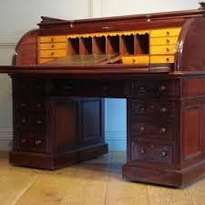 Old Roll Top Desk Furniture Antique Roll Top Desks With Antique Desk Lock And