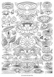 Thai Flower Tattoo Designs Ouch Lotus Drawings And Flowers