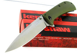 kershaw al mar am 4 flipper speed assisted opening g10 green olive