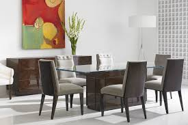 dakota for decca home u2013 kingsley glass top dining table with