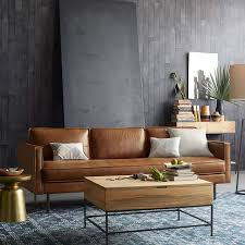 Modern Living Room Ideas With Brown Leather Sofa Modern Leather Sofa Ideas For Modern Living Room Hupehome