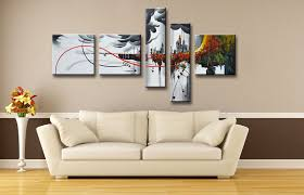 Plain Home Wall Art Decor Also Inside Design Ideas - Wall paintings for home decoration