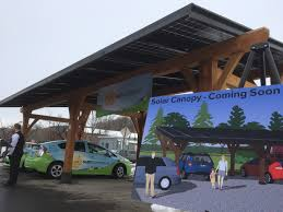 Solar Canopy by Scott Hails Solar Firm As Part Of Job Creating Energy Effort