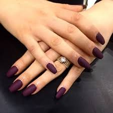 acrylic nail designs plum google search fashion pinterest
