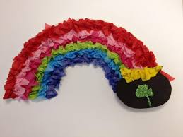 crafternoon u2013st patrick u0027s day rainbow and pot of gold librerin