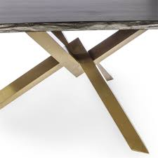 live edge table top couture brushed gold dining table with live edge table top the