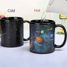 best mug new the solar system ceramic coffee mug heat sensitive color