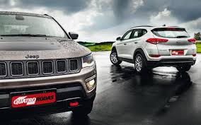 jeep tucson comparativo jeep compass trailhawk x hyundai new tucson gls
