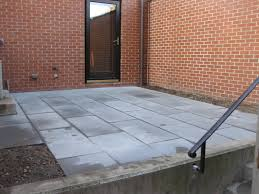 Large Pavers For Patio South End Bluestone Patio Horticulture Design