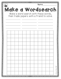 make own word search free printable make your own word search printable 360 degree