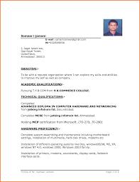 Creative Sample Resume by Format Sample Resume Format Word
