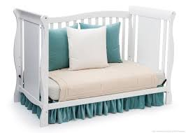 How To Convert Crib To Daybed Brookside 4 In 1 Crib Delta Children