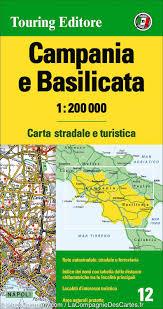 Genoa Italy Map by Map Of Campania U0026 Basilicata Potenza U0026 Napoli Region Italy