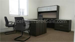 u shaped glass desk desks realspace broadstreet contoured u shaped desk deskss