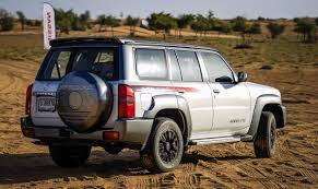 nissan patrol new 2017 nissan patrol super safari wants to conquer the desert in