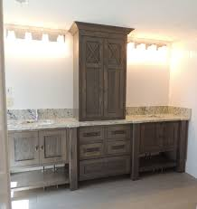 Master Bathroom Vanity Ideas Colors Furniture Style Bathroom Vanity In White Oak With Grey Brown Stain