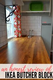 alder wood kitchen cabinets reviews a review ikea butcher block countertops and waterlox finish