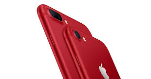 Red Colors Apple Introduces Iphone 7 And Iphone 7 Plus Product Red Special