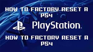 format factory yukle boxca how to factory reset wipe a ps4 pro reinstall system software