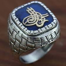 ring men 925 sterling silver ring men sultan signature turkish handmade