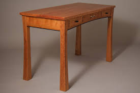 Cherry Desk Custom Cherry Writing Desk With Drawers By Joseph Murphy Furniture